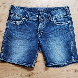 Silver Suki Surplus Bermuda Shorts